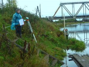 Гидрологи работают в любую погоду. Специалисты Г-1 Краснотурьинск на Лобве