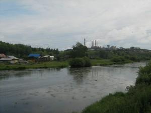 Река Пышма в районе г. Сухой Лог. Фото Лукмановой Л.В.