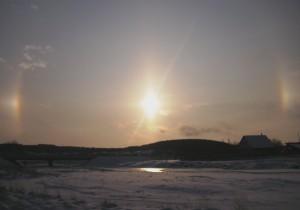 Закат в верховьях р. Чусовой. Фото Клименко Д.Е.
