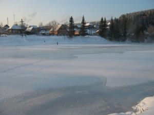 река Ивдель в районе гидрологического поста. Фото Полякова Л.Г.