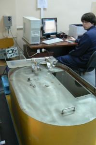 Установка компараторная для поверки гидрологических вертушек (УКПГВ)