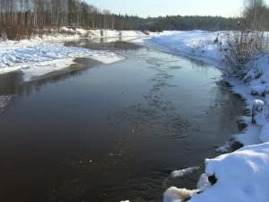 2015-10-14 Первые ледовые явления на реках севера Мартюгиной