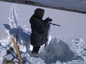 5 снегосъемка на полевом маршруте в Верхотурье 190