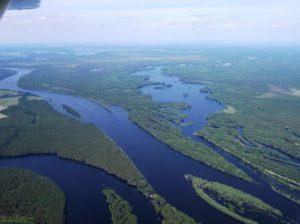 Пойменные разливы реки Тавды
