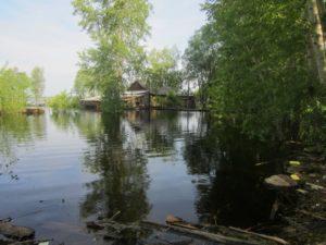 река Тавда у г. Тавда