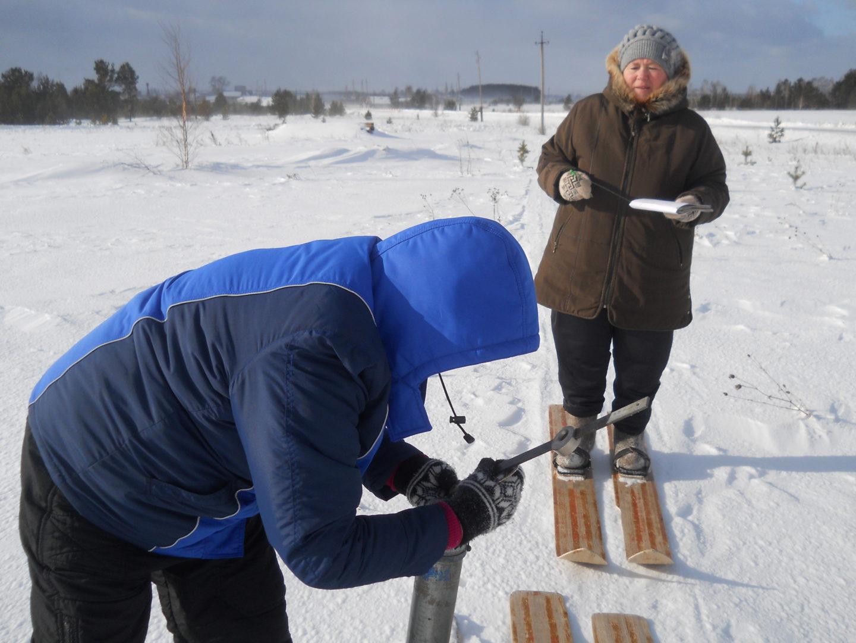 Снегомерная рейка своими руками